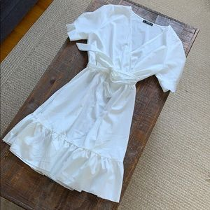 White sun dress